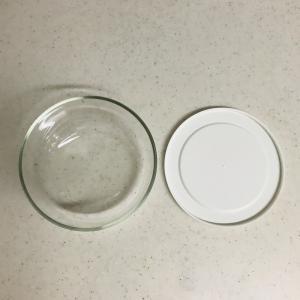 【物を選ぶ】レンジ・食洗機OKの白い食器と保存容器。持たない暮らしを加速