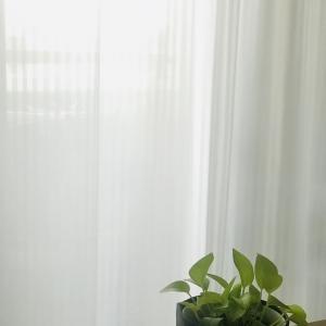 部屋が広く見えるカーテン選び。ひだなし/ノンプリーツカーテン/UVカット/昼も夜も見えにくい