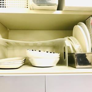食器棚を使わない収納方法。キッチン/食器収納