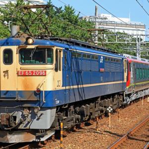 JR四国・土佐くろしお鉄道 2700系気動車 甲種輸送 JR貨物 EF65-2096号機牽引