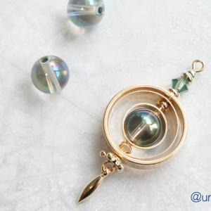 魔法円のアミュレット- アクアオーラ・ミントカラー -