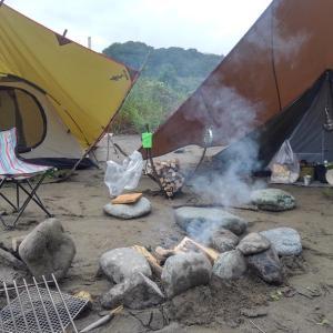 釣りキャンプ 前編