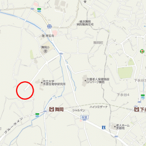 舞岡リサーチパークの何処にも繋がっていない謎の2車線道路(第1回)