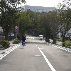 舞岡リサーチパークの何処にも繋がっていない謎の2車線道路(第2回)