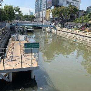 パドゥンクルンカセーム運河ボート