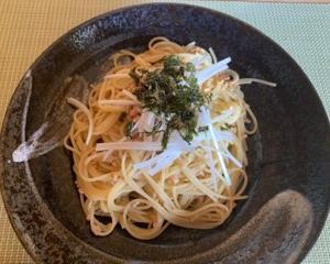 石田ゆり子の納豆パスタの作り方 梅干しで味付けいらず10分レシピ