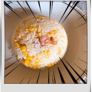3分クッキング★炊き込みご飯チャーハン風を炊飯器で簡単に作ってみた