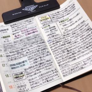 【能率手帳】わたしの書き方、公開します!