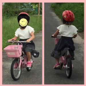 自転車特訓⁉︎の結果…