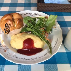 今日のランチは「ピーターラビットガーデンカフェ 自由が丘」に行ってきました!