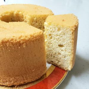低糖質のシフォンケーキを焼きました
