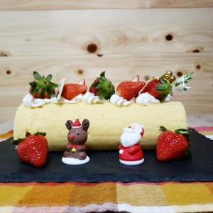 低糖質クリスマスケーキ その1