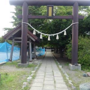 小さいながら賑やかな福住の神社