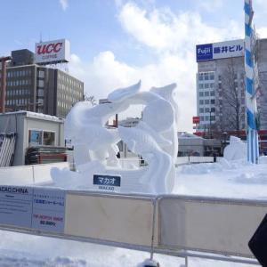 外国人による驚きの雪像