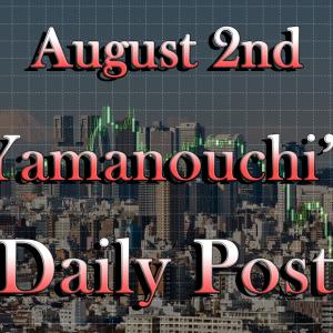 8月2日本日の通貨強弱と狙い目は?