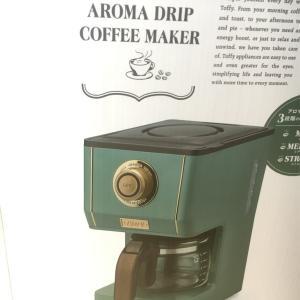 TOFFYのアロマドリップコーヒーメーカーがおしゃれすぎる!口コミレビュー