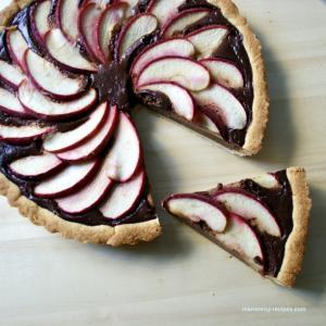 """りんごの季節がやって来た!""""アップルチョコレートタルト"""""""