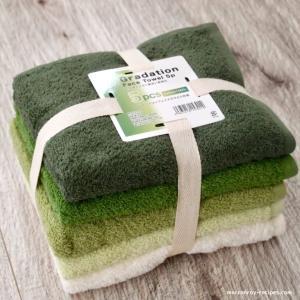 """コストコでタオルを買う!""""伊澤タオル グラデーションフェイスタオル"""""""