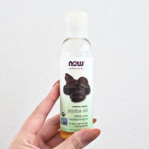 【レビュー】Now Solutions certified organic jojoba oil 認定オーガニックホホバオイル【口コミ】