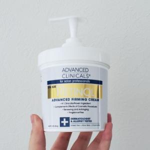 【レビュー】Advanced Clinicals Retinol Advanced Firming Cream レチノールアドバンスドファーミングクリーム【口コミ】