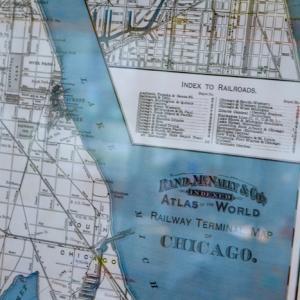 シカゴの地図