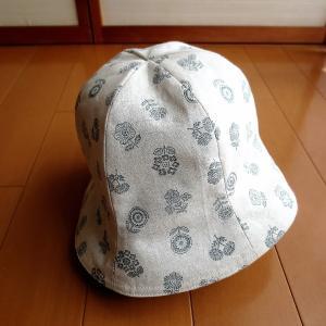初めての帽子 (*^_^*)