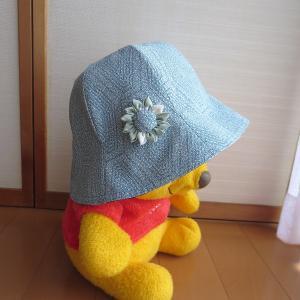 手作り帽子 2つ目!
