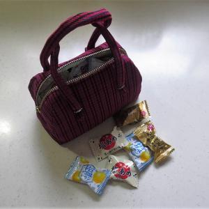 大島のバッグが出来たけどーー