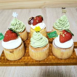 低糖質クリスマスカップケーキのレシピ
