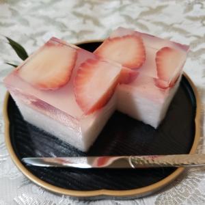 低糖質 淡雪羹と錦玉羹のレシピ