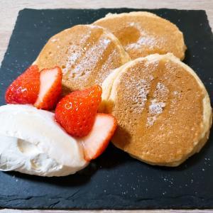 低糖質 パンケーキのレシピ