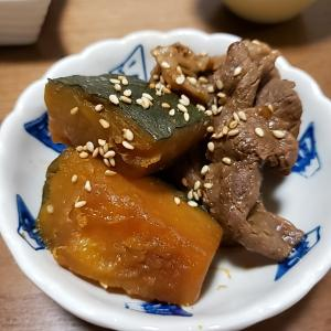 かぼちゃの甘辛煮のレシピ