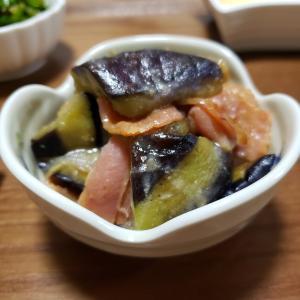 茄子の味噌炒めのレシピ