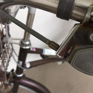 自転車修理 ブレーキワイヤー