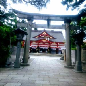 早朝散歩は街に行く!パワースポットでパワー注入!【富山:日枝神社など】