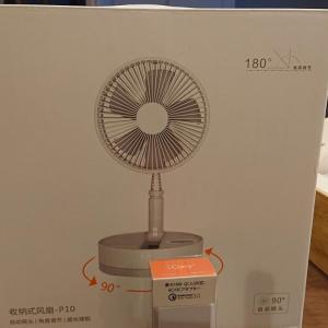 扇風機投入と互換バッテリー