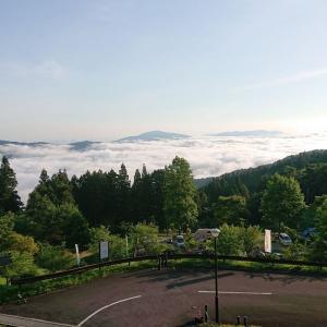 霧の高原オートキャンプ場翌日編
