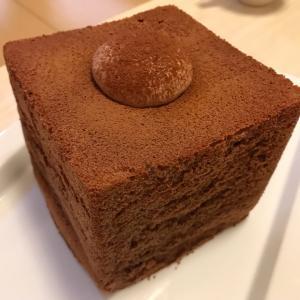 【GOKOKU】珍しい!?食パンみたいな形の四角いチョコシフォンケーキ★