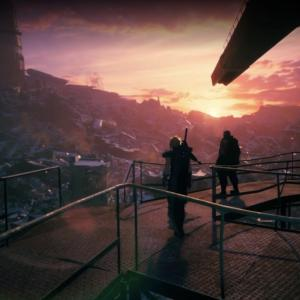 【FF7リメイク日記】3人でプレートの上へ!神羅からエアリスを取り戻すためにガンガン行くぞ〜