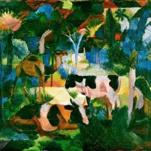 「ドイツ表現主義画家」アウグスト・マッケ(August Macke)の絵画集
