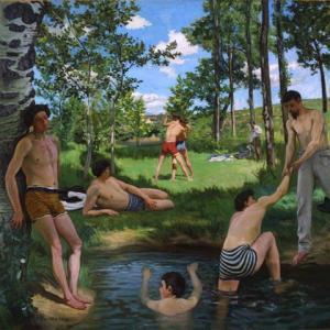 「印象派」フレデリック・バジール(Frederic Bazille)の絵画