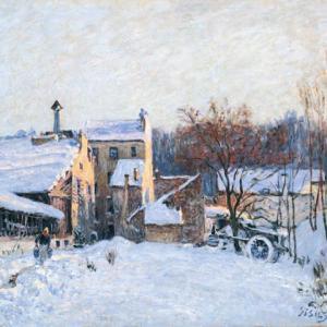 「印象派画家」アルフレッド・シスレーの絵画