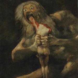 「黒い絵」フランシスコ・デ・ゴヤ(Francisco Goya)の絵画