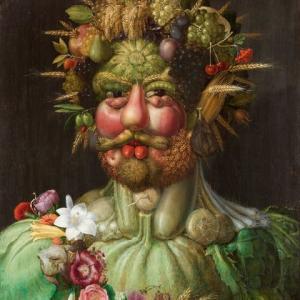 「奇想の画家」ジュゼッペ・アルチンボルド(Giuseppe Arcimboldo)の絵画