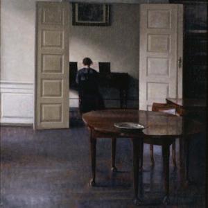 「北欧のフェルメール」ハマスホイ(Vilhelm Hammershoi)の絵画