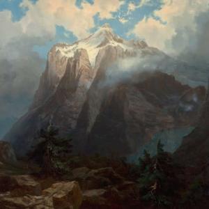 「山岳風景画家」アルバート・ビアスタット(Albert Bierstadt)絵画