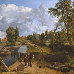 「詩情的な風景画家」ジョン・コンスタブル(John Constable)絵画