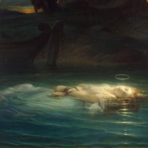 「ロマン主義とアカデミック絵画の画家」ポール・ドラローシュ(Paul Delaroche)の絵画