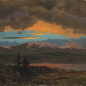 「風景画家」フレデリック・エドウィン・チャーチ(Frederic Edwin Church)の習作/スケッチ