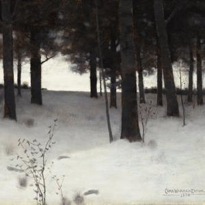 「色調主義の風景画家」チャールズ・ウォーレン・イートン(Charles Warren Eaton)の絵画